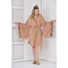 """Экстравагантный женский халат из органического хлопка Муслин Ecocotton """" Arles """""""