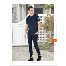 Пижама мужская с брюками Jiber № 4723 Синий