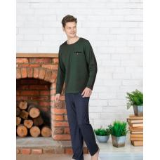 Пижама мужская с брюками Jiber № 4668 Зеленый