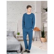 Пижама мужская с брюками Jiber № 4670 Синий