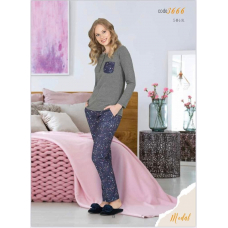 Пижама женская с брюками Jiber № 3666