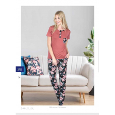 Пижама женская с брюками Jiber № 3713