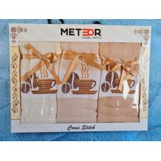 """Набор кухонных вафельных полотенец Meteor """"Кофе"""""""