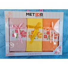 """Набор кухонных вафельных полотенец Meteor """"Цветок 2"""""""