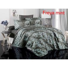 Постельное бельё Altinbasak сатин - Freya mint