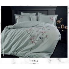 Постельное белье Dantela Vita сатин с вышивкой - Huma Maldiv
