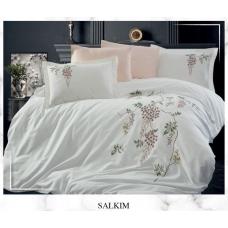 Постельное белье Dantela Vita сатин с вышивкой - Salkim