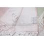 "1Махровое полотенце  Maison D`or -""Peshtemal""розовый 100х200 см"