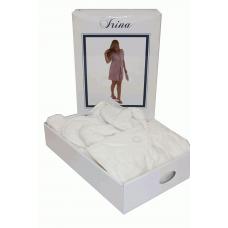 """1 Набор халат женский махровый с тапочками  Maison D`or -""""Irina"""""""