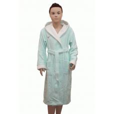 1 Детский бамбуковый халат Bellezza № 2032 мята