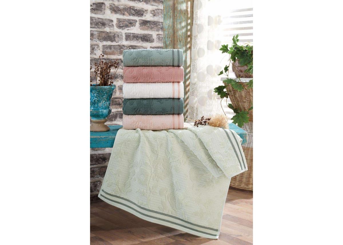 1 Банные хлопковые полотенца Saheser - Ella