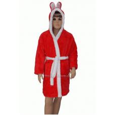Детский халат пушистый зайчик