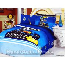 """Постельное белье  Le Vele """"FORMULA BLUE"""" - полуторное."""