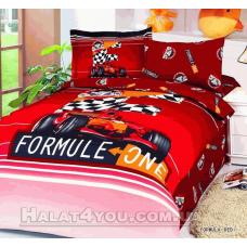 """Постельное белье  Le Vele """"FORMULA RED"""" - полуторное."""