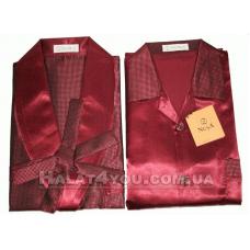 Пижама мужская шелковая NUSA № 9700-3