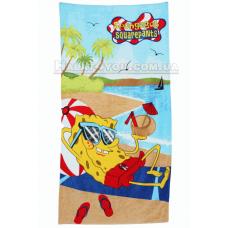 """Пляжное полотенце """"Sponge Bob """"- 75*150"""