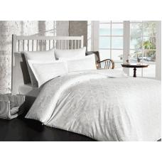 Постельное белье Prima Casa Жаккард - бамбук - Damask white