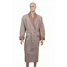 Халат мужской вафельный Nusa №15120-1