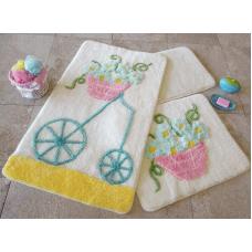 """Набор ковриков для ванной и туалета """"Alessia""""№1"""