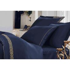 """Постельное белье Ecocotton """"Sehzade laci"""" сатин с вышивкой"""