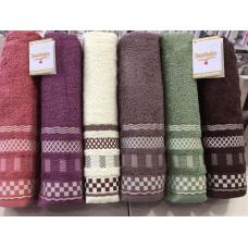 Хлопковые банные полотенца Hanibaba B-07