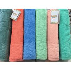 Хлопковые лицевые полотенца Hanibaba L-01
