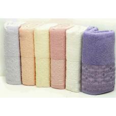 Хлопковые банные полотенца Soft Kiss - Zarif Desen