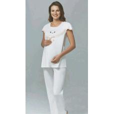 Пижама трикотажная для беременных Pelin  №1208