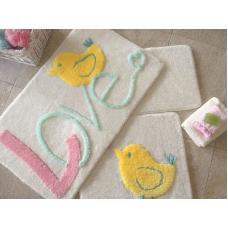 """Набор ковриков для ванной и туалета """"Alessia""""№31"""