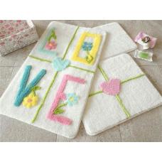 """Набор ковриков для ванной и туалета """"Alessia""""№32"""