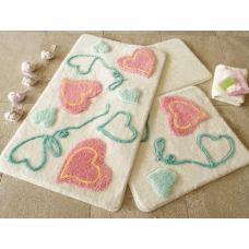"""Набор ковриков для ванной и туалета """"Alessia""""№34"""