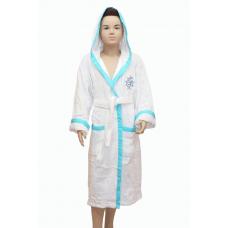 а Подростковый махровый халат - экспорт №2011