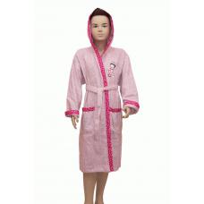 Подростковый махровый халат - экспорт №2029