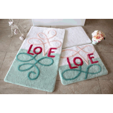 """Набор ковриков для ванной и туалета """"Alessia""""№4"""