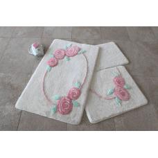 """Набор ковриков для ванной и туалета """"Alessia""""№28"""