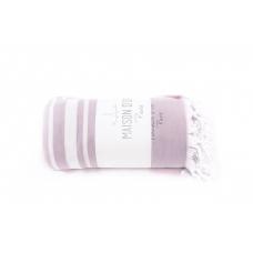 Махровая простынь - покрывало Maison D`or Babetta - фиолетовый