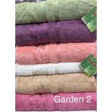 Бамбуковые полотенца для сауны 100х150 см Hanibaba - Garden2