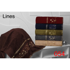 Бамбуковые полотенца для сауны 100х150 см Hanibaba - Lines