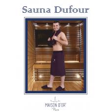 """Набор мужской для посещения сауны  Maison D`or -""""Dufour"""""""