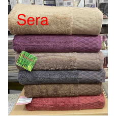 Хлопковые банные полотенца Hanibaba - Sera