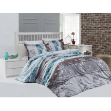 Семейный комплект постельного белья из сатина Altinbasak-Catelin