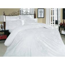 Семейный комплект постельного белья Altinbasak-Sehrazat beyaz