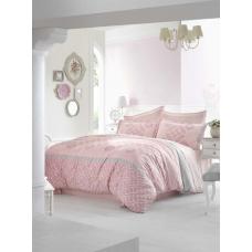 Семейный комплект постельного белья Altinbasak-Alona pembe